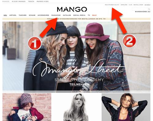 Mango-online-shop-schweiz-schritt-1