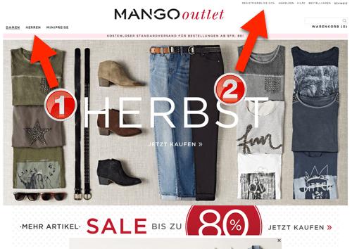 mango-outlet-online-shop-schweiz-schritt-1